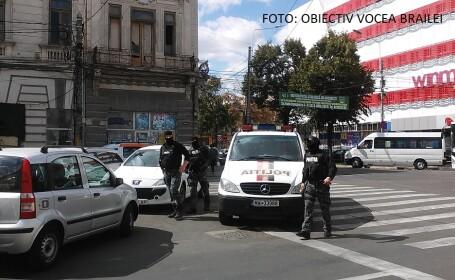 Tânăr atacat cu sabia în trafic, în Brăila. Abia ieşise de la Starea Civilă