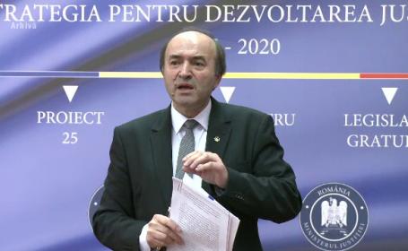 O nouă plângere penală împotriva ministrului Justiției, Tudorel Toader