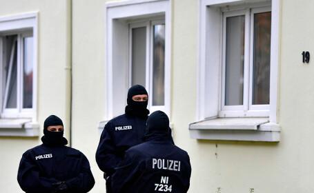 raid al politiei in Germania