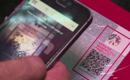 Produsele alimentare ar putea avea coduri QR, scanabile cu smartphone-ul