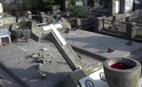 profanare morminte Botoșani