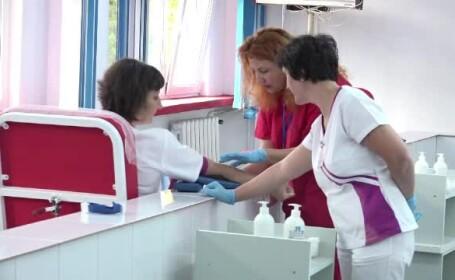 Campanie pentru donarea de sânge, la spitalul din Alba
