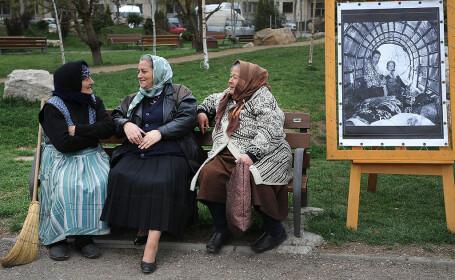 femei rome în Bucureşti