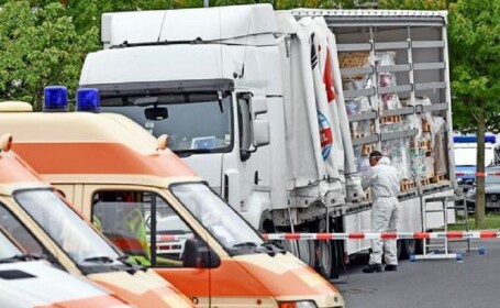 camion migranți