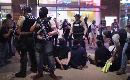 Proteste violente în St Louise: 80 de persoane arestate
