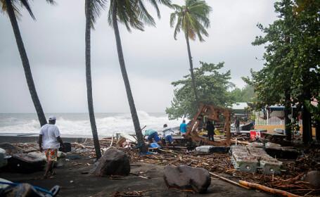 Uraganul Maria a ajuns de categoria 5 din 5 și a devastat Caraibe