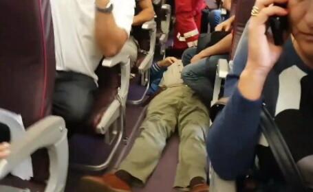 Clipe de groază într-un avion Wizz Air. Un pasager se apucase să scrie mesaje de adio