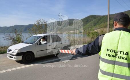 Migranți prinși în taximetre