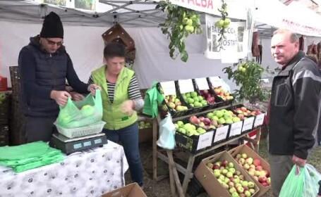 Târg de toamnă la Alba-Iulia. Cât de mult s-au scumpit fructele şi legumele
