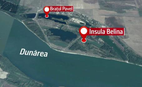 Insula Belina ar putea fi transformată în paradis fiscal. \