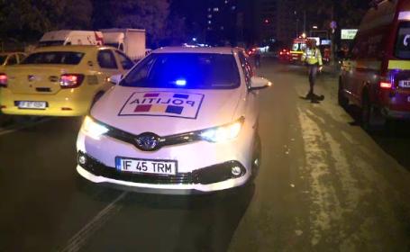 Un șofer din Capitală a lovit mortal un bărbat și a părăsit locul accidentului