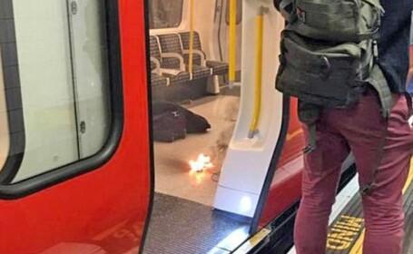 Stație de metrou din Londra, evacuată după ce o baterie externă de telefon a explodat