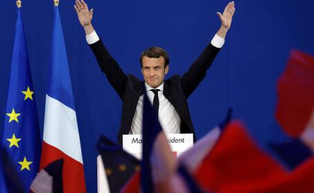 Macron a cerut, într-un discurs istoric, o cooperare mai strânsă în UE. VIDEO