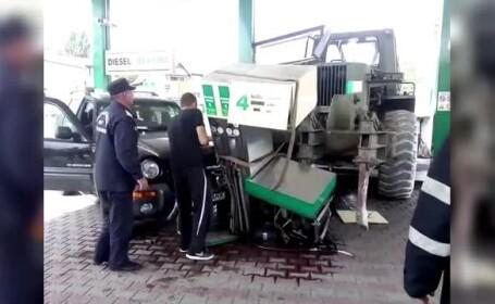 benzinarie distrusa