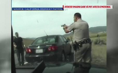 Tânăr care suferă de schizofrenie, împușcat de un polițist american