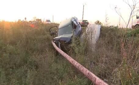 Două femei din Arad au ajuns la spital, după ce trei mașini s-au ciocnit
