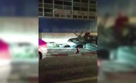 Accident grav cu 6 răniţi, în Galaţi