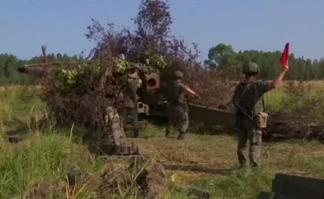Exerciții militare ample efectuate de ruși, la graniță cu Polonia. Cum au fost surprinși soldații