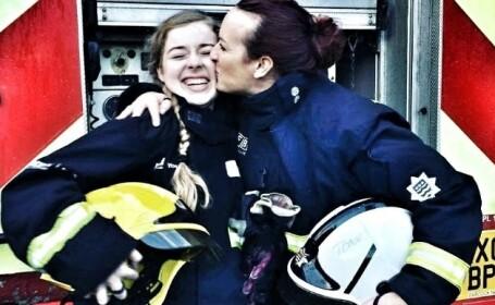 femeie-pompier