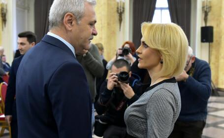 Gabriela Firea, Liviu Dragnea