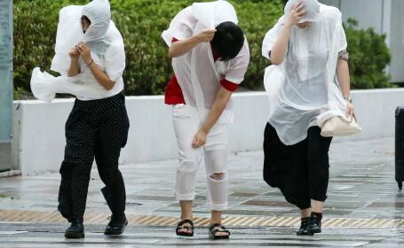 Japonia, afectată de un taifun. Sunt cel puțin 6 morți și 170 de răniți. FOTO