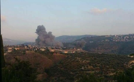 Atac israelian asupra Siriei. Câteva rachete au fost doborâte de forţele Damascului