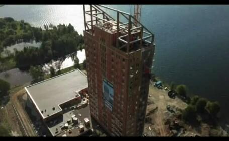 Cea mai înaltă clădire din lume din lemn este în Norvegia. Are 18 etaje