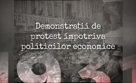 """""""100 de ani în 100 de zile"""". 1931: Proteste ale muncitorilor ceferiști față de măsurile de criză"""