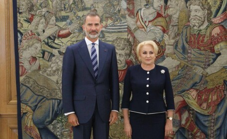 Viorica Dăncilă, primită de regele Spaniei. Ce au discutat