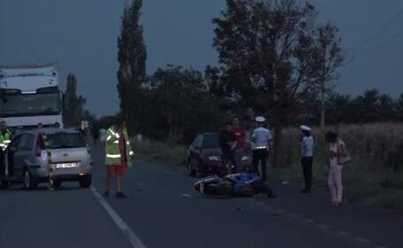 accident de motocicleta