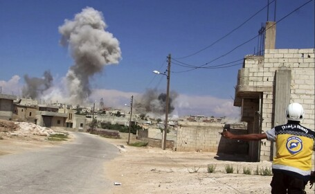 bombardament in Idlib