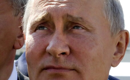 Vladimir Putin la Vladivostok