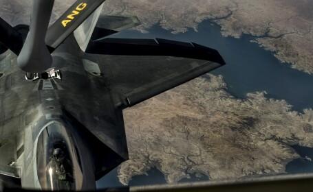 avion american deasupra Siriei