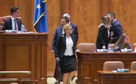 Carmen Dan in Parlament