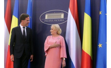 """Dăncilă: """"Am solicitat sprijin pentru aderarea României la Schengen"""". Reacția lui Mark Rutte"""