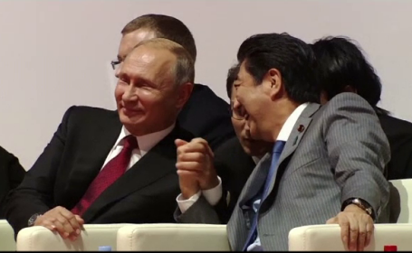 Vladimir Putin, Shinzo Abe