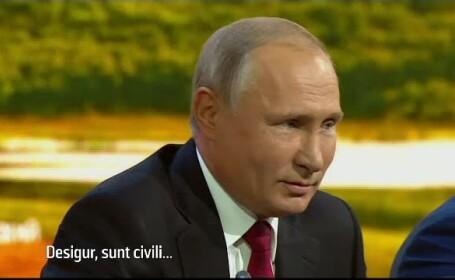 Vladimir Putin, despre rusii acuzati de otravirea lui Skripal