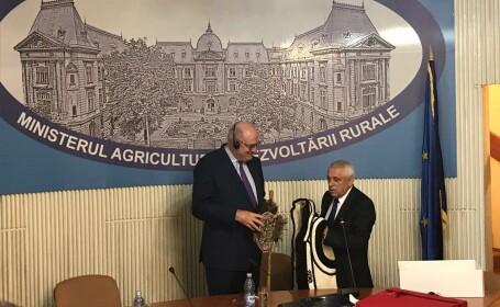 Daea, la întâlnirea cu Hogan, comisarul european responsabil pentru agricultură: \