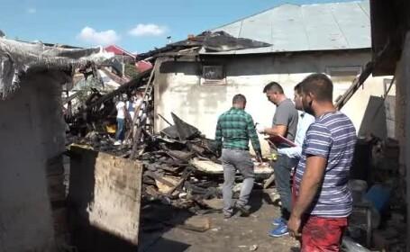 Tragedie într-o familie din Buzău. Un copil de 2 ani a murit într-un incendiu