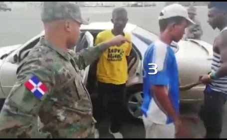 politie, masina, migranti, republica dominicana,