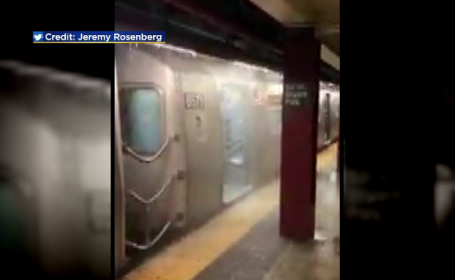 inundații metrou New York