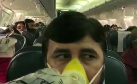 pasageri avion