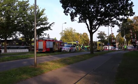 Patru copii au murit în Olanda după ce un tren a lovit o bicicletă cargo