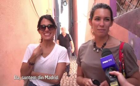 turiste Madrid
