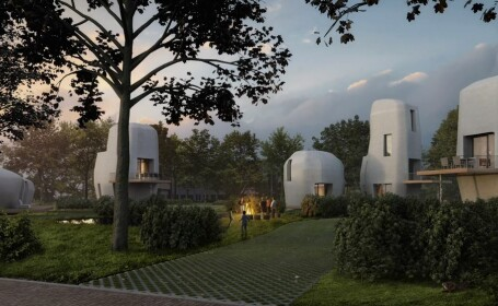 O companie din Olanda produce locuințe cu ajutorul unei imprimante 3D