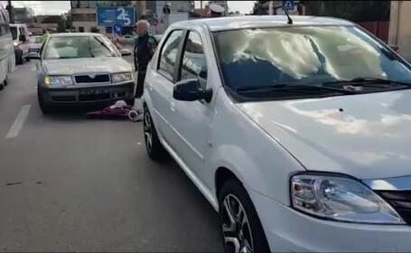 Un bărbat a fost lovit de două mașini pe trecerea de pietoni, în Pitești