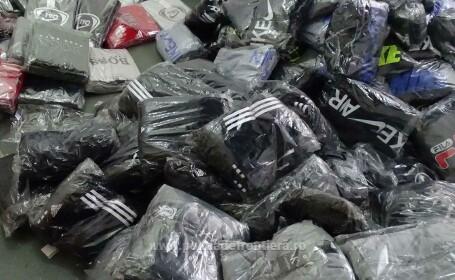 Peste 1.800 de bunuri susceptibile a fi contrafăcute, confiscate de polițiștii de frontieră din cadrul P.T.F. Giurgiu