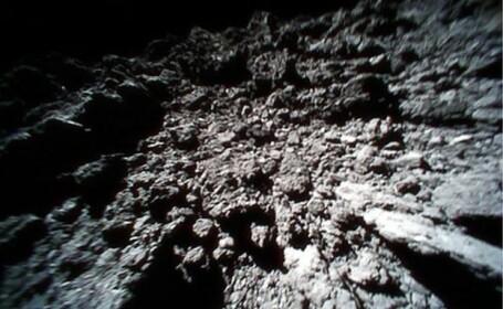 Japonezii au publicat noi imagini de pe asteroidul Ryugu. Ce au pozat roverele