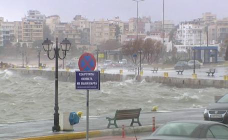 Ciclonul neobişnuit care va aduce valuri de peste 10 metri și vânt de 95 km/h