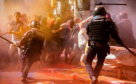 protest barcelona